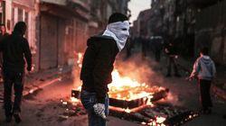 Διαμαρτυρίες με επεισόδια στην πλατεία Ταξίμ για τις επιχειρήσεις εναντίον του
