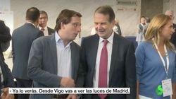 Duelo de luces de Navidad entre Almeida (PP) y Caballero (PSOE):