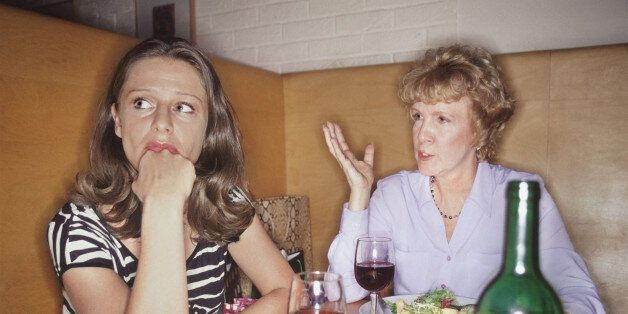 two women having a meal together