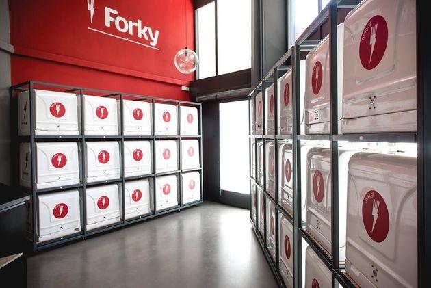 Όχι πια junk food στη δουλειά, μόνο Forky: Το ελληνικό delivery της νέας
