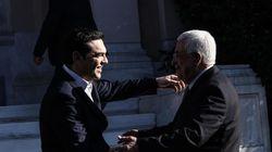 Ιστορική απόφαση στη Βουλή για την αναγνώριση του παλαιστινιακού κράτους. Ομιλία Αμπάς στο σώμα του
