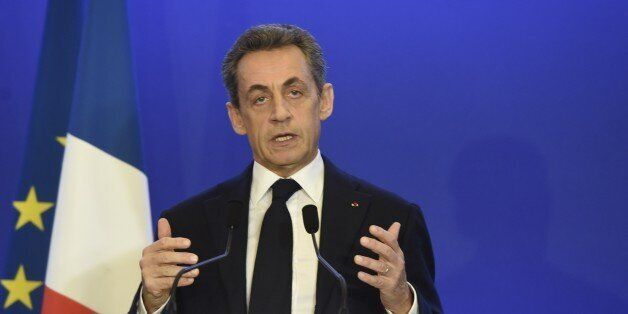 Nicolas Sarkozy, former French president and president of the right-wing Les Republicains (LR) party,...