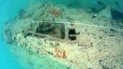 Εικόνες από βυθισμένο υδροπλάνο στην ναυτική βάση Περλ Χάρμπορ για πρώτη φορά στην