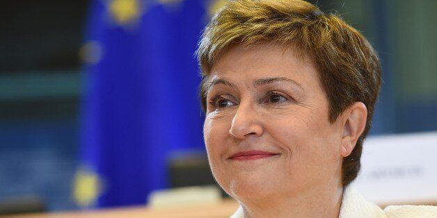 European Commissioner nominee for budget and resources Kristalina Georgieva of Bulgaria faces a hearing...