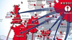 Χάρτης: Η Ρωσία στηρίζει τα ακροδεξιά κόμματα της