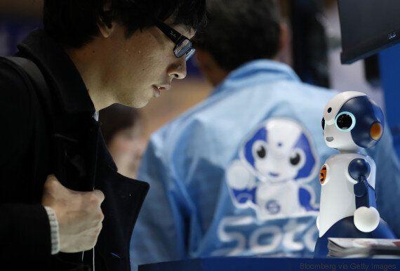 Τα απίστευτα (και κάπως τρομακτικά) ρομπότ που παρουσιάστηκαν στη φετινή Διεθνή Έκθεση