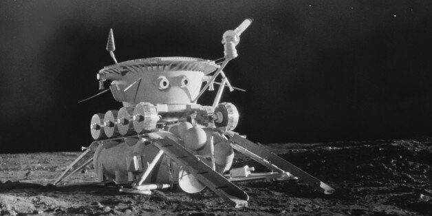 RUSSIA - JANUARY 01: Soviet Union. Lunokhod I, First Space Vehicle On The Seventies. (Photo by Keystone-France/Gamma-Keystone...