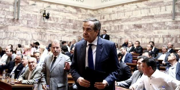 Σαμαράς σε Πλακιωτάκη: «Να κάνεις ό,τι πρέπει για να προχωρήσουμε σε εκλογές με σοβαρότητα και