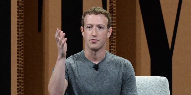 SAN FRANCISCO, CA - OCTOBER 07: Facebook Founder, Chairman and CEO Mark Zuckerberg speaks onstage during...