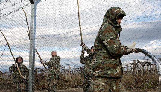 Ολοκληρώνονται οι εργασίες για τον φράχτη στα σύνορα των
