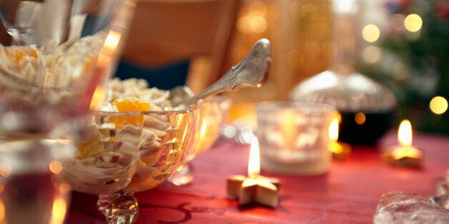 In Germany traditionally Christmas is celebrated on Christmas Eve with gifts and buffet style