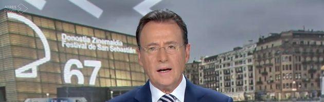 Matías Prats, presentador de 'Antena 3