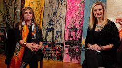 Η Μίνα Παπαθεοδώρου- Βαλυράκη «ζωγραφίζει» πάνω σε ένα διαφορετικό καμβά: το μεταξωτό