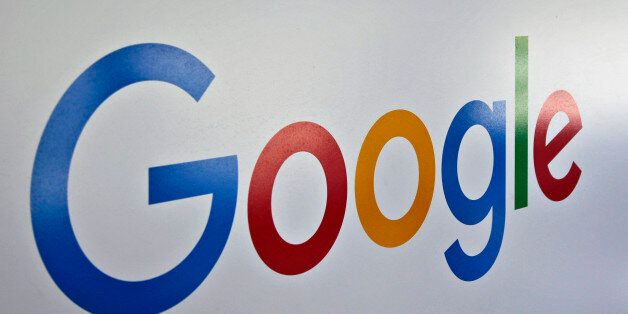 This Oct. 20, 2015 photo shows signage outside Google headquarters in Mountain View, Calif. (AP Photo/Marcio...