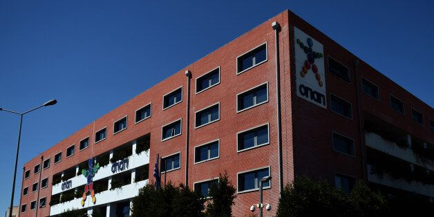 A view of the OPAP building, Greece's state lottery monopoly in Athens on September 21, 2012. Greece...