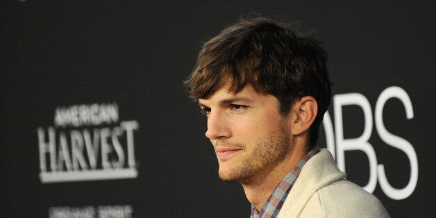 Ashton Kutcher arrives at the special screening