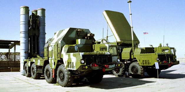 FILE In this undated file photo a Russian S-300 anti-aircraft missile system is on display in an undisclosed...