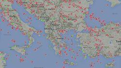 Δείτε που βρίσκεται κάθε αεροπλάνο και πλοίο στον κόσμο ανά πάσα