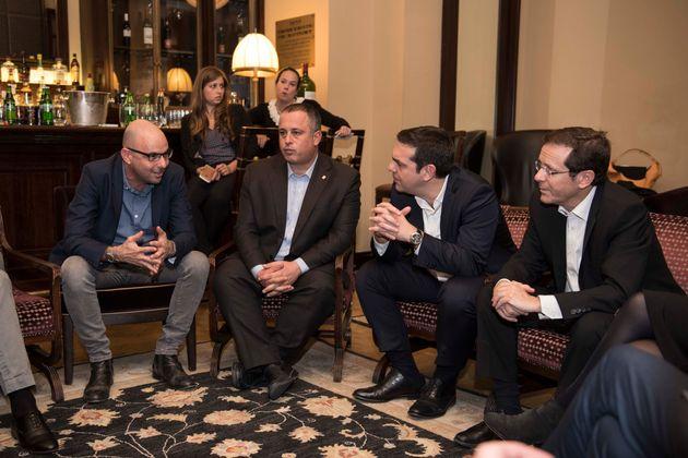 Με έμφαση στην ενεργειακή συνεργασία οι δηλώσεις Τσίπρα και