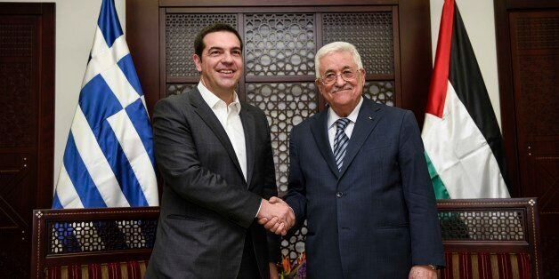 Συνάντηση Τσίπρα με Αμπάς: Η Ελλάδα στηρίζει τις διεθνείς πρωτοβουλίες για επίλυση του
