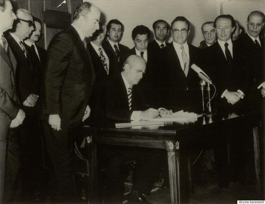 Ανάμεσα στο «παλιό» και το «νέο»: Η Νέα Δημοκρατία μετά τη Μεταπολίτευση,