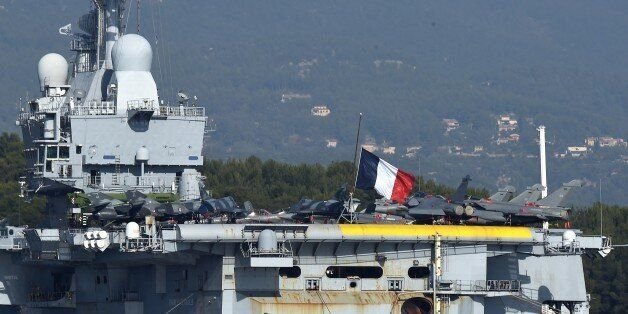 Charles de Gaulle, the flagship of the French Navy and the largest western European warship currently...