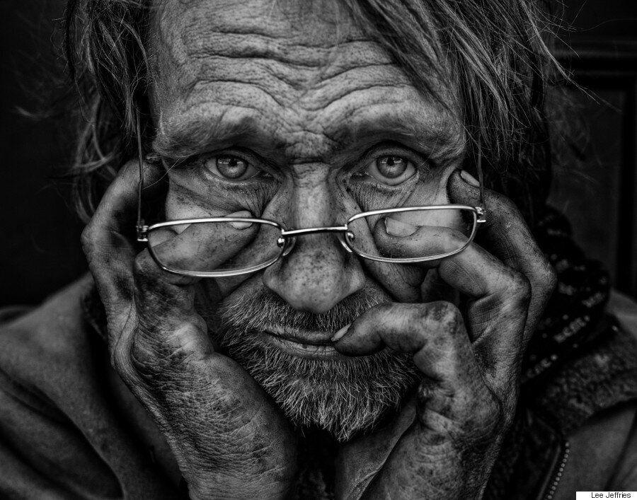 Συγκλονιστικά ασπρόμαυρα πορτραίτα αστέγων από το φακό του Lee