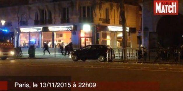 Βίντεο ντοκουμέντο: Οι πρώτοι πυροβολισμοί μεταξύ αστυνομικών και τρομοκρατών στο