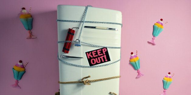 Keep Out of Refrigerator