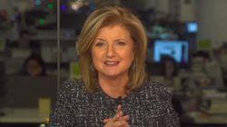 Η Arianna Huffington εύχεται «Χρόνια Πολλά» στη ΗuffPost