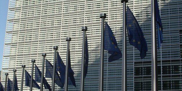Berlaymont building, Brussels, Belgium, headquarter of the European