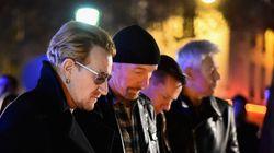Το συγκρότημα U2 τιμά τα θύματα της επίθεσης στο