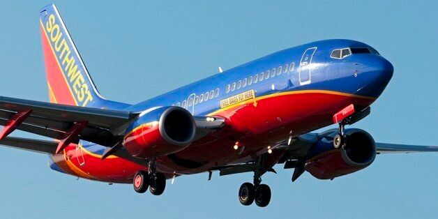 Free bags fly here printBoeing 737-7H4Houston - William P. Hobby (HOU / KHOU)
