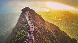 Αυτή η σκάλα οδηγεί στον Παράδεισο αλλά θα πρέπει να πληρώσετε για να φτάσετε