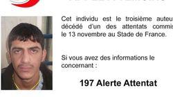 Η γαλλική αστυνομία δίνει στη δημοσιότητα την φωτογραφία του τρίτου βομβιστή του Stade de
