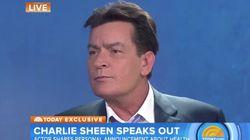 Ο Charlie Sheen επιβεβαίωσε δημοσίως πως είναι θετικός στον ιό