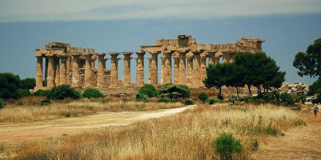 The Acropolis, Selinunte Greek ruins,