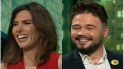 El comentario de Gabriel Rufián que ha provocado una carcajada de Verónica Sanz en 'LaSexta