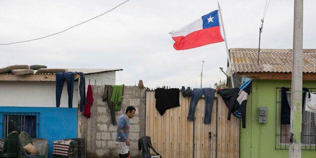 TONGOY, CHILE - SEPTEMBER 18: Damages on constructions are seen on September 18, 2015 in Tongoy, Chile....