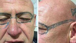 Γελάει ο κόσμος: Μεθυσμένος με μόνιμo τατουάζ