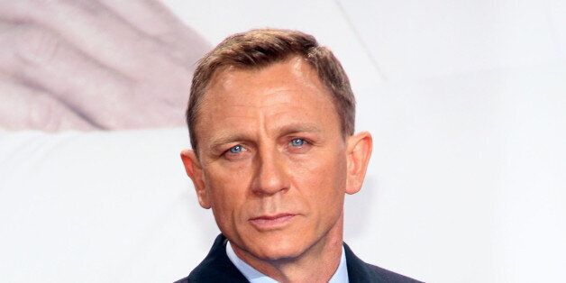 BERLIN, GERMANY - OCTOBER 28: Daniel Craig attends the 'Spectre' Germany premiere in on October 28, 2015...