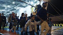 5.630 πρόσφυγες αποβιβάστηκαν στο λιμάνι του