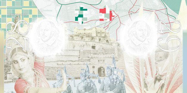 Representing UK multi-cultural festivals, an OS map of Edinburgh symbolises the Edinburgh Fringe