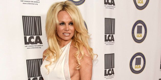 Pamela Anderson, recipient of