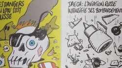 Οργισμένοι οι Ρώσοι με τα σκίτσα του Charlie Hebdo για την συντριβή του ρωσικού