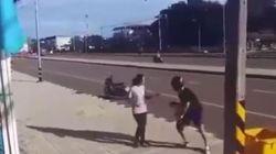 Δεν θα πιστεύετε πως αντέδρασε μια νεαρή όταν ένας κλέφτης βούτηξε την τσάντα