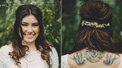 Αυτές οι 19 φωτογραφίες αποδεικνύουν ότι νυφικά και τατουάζ ταιριάζουν