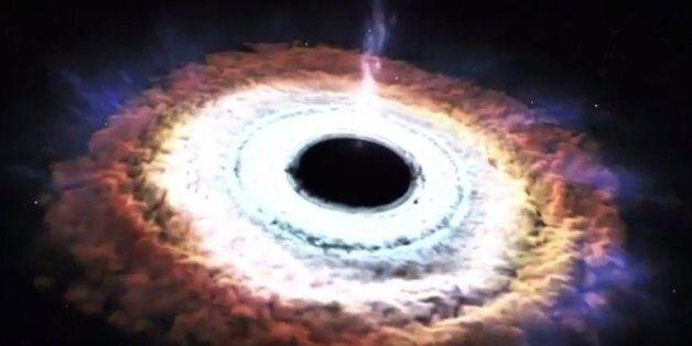 Θα σας καθηλώσει: Μαύρη διαστημική τρύπα «καταβροχθίζει» ένα ετοιμοθάνατο