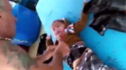Βίντεο: Διάσωση μωρού από Τούρκους ψαράδες στο