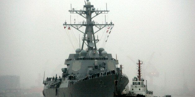 In this April 8, 2008, file photo, guided missile destroyer USS Lassen arrives at the Shanghai International...